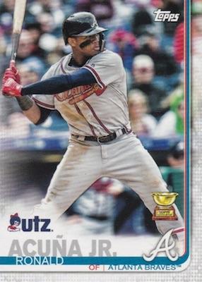 2019 Topps Utz Baseball Cards 3