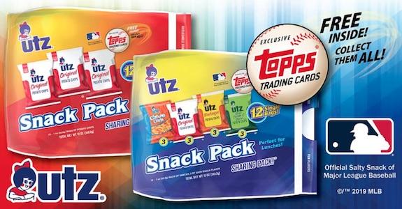 2019 Topps Utz Baseball Cards 2