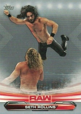 2019 Topps WWE Raw Wrestling Cards 25