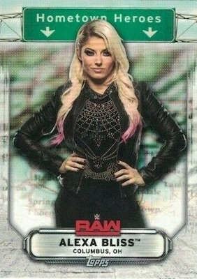 2019 Topps WWE Raw Wrestling Cards 30