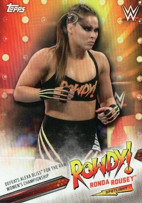 2019 Topps WWE Raw Wrestling Cards 32