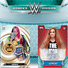 2019 Topps WWE Women's Division Wrestling Cards