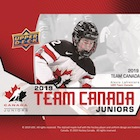 2019 Upper Deck Team Canada Juniors Hockey Cards