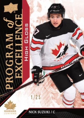 2019 Upper Deck Team Canada Juniors Hockey Cards 2