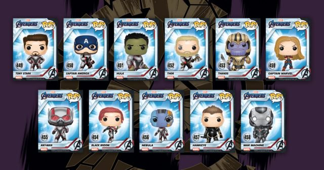 Funko Pop Avengers Endgame Checklist, Exclusives List