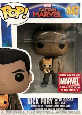 Funko Pop Captain Marvel Movie Figures 22