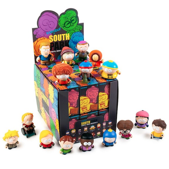 Kidrobot South Park Series 2 Mini Vinyl Figures 2