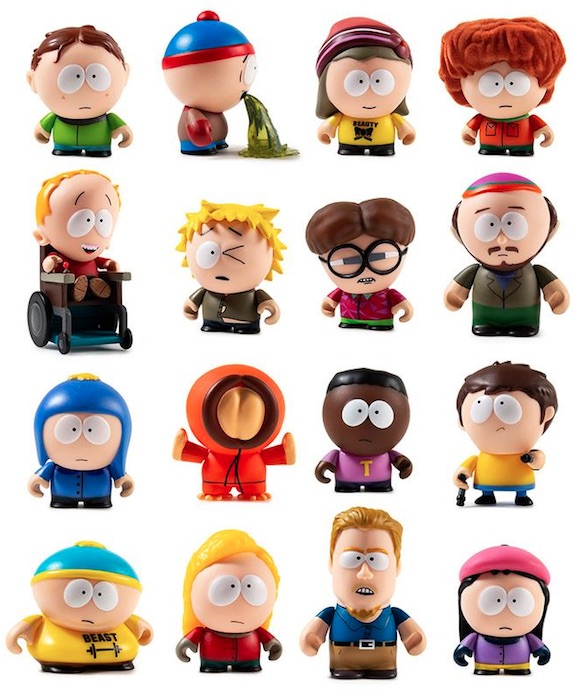 Kidrobot South Park Series 2 Mini Vinyl Figures 3