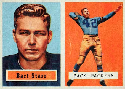 Celebrate the Packers Legend with the Top 10 Bart Starr Cards 1