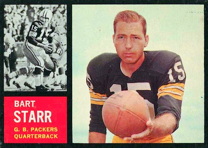 Celebrate the Packers Legend with the Top 10 Bart Starr Cards 6
