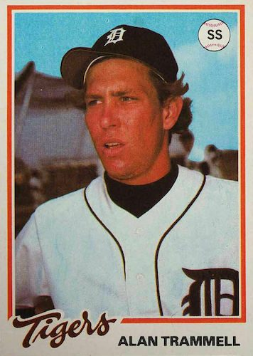 Top 10 Alan Trammell Baseball Cards 10