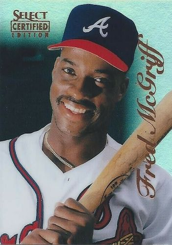 Top 10 Fred McGriff Baseball Cards 7