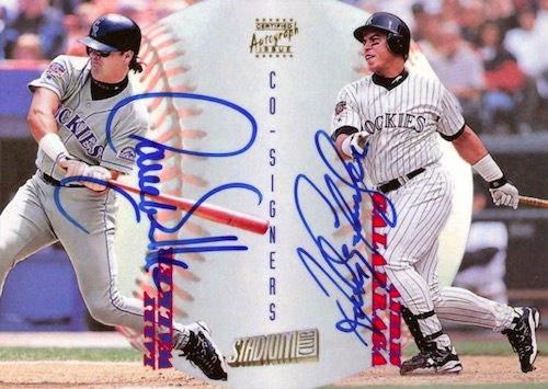 Top 10 Larry Walker Baseball Cards 7