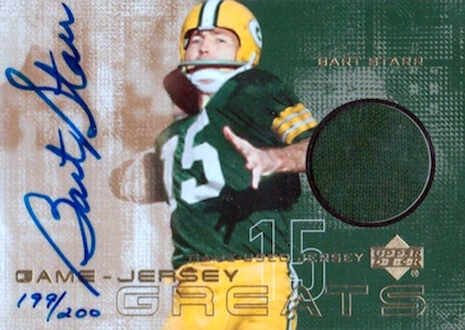 Celebrate the Packers Legend with the Top 10 Bart Starr Cards 9