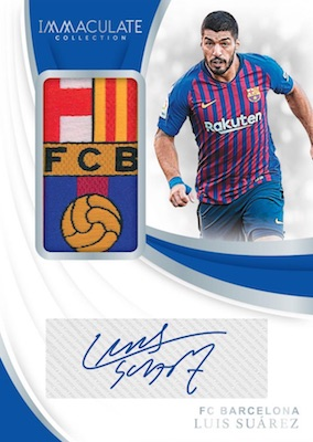 2018-19 Panini Immaculate Collection Soccer Cards 2