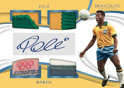 2018-19 Panini Immaculate Collection Soccer Cards 3