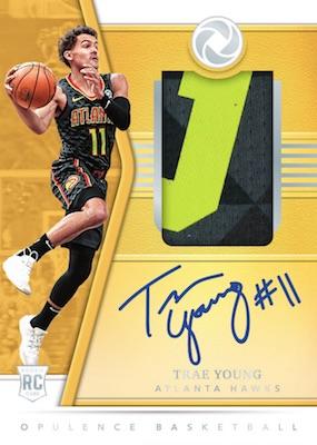 2018-19 Panini Opulence Basketball Cards 1