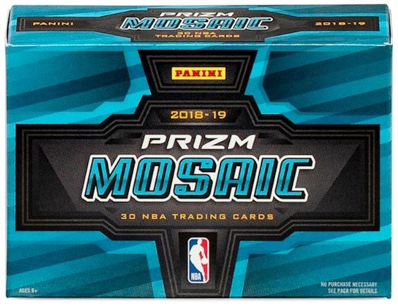 2018-19 Panini Prizm Mosaic Basketball Cards 4