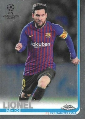 2018-19 Topps Chrome UEFA Champions League Soccer Cards 3