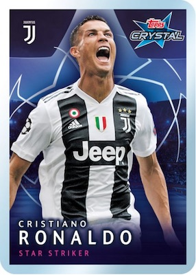 2018-19 Topps Crystal UEFA Champions League Soccer Cards 1