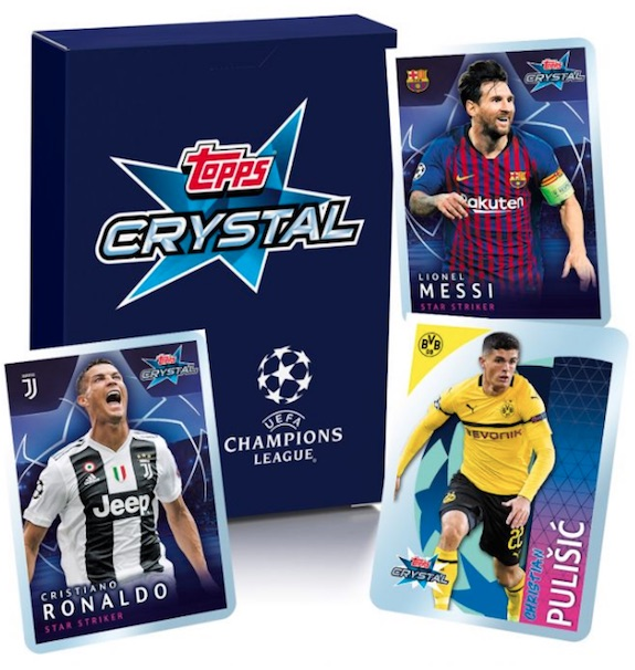2018-19 Topps Crystal UEFA Champions League Soccer Cards 3