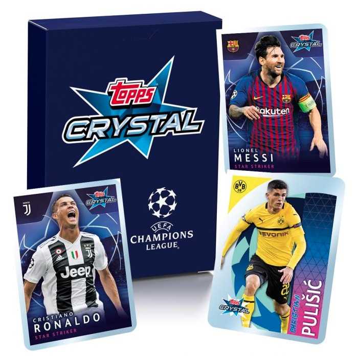 Topps UEFA Champions League de Cristal 2019//20 Kylian Mbappe UCL Master Card
