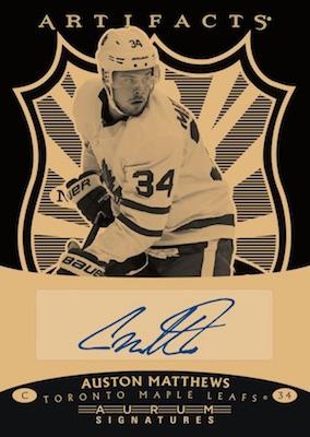 2019-20 Upper Deck Artifacts Hockey Cards 3