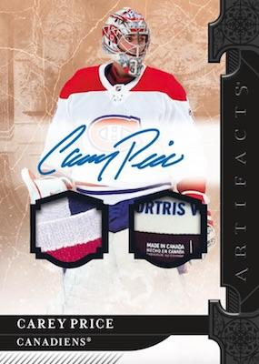 2019-20 Upper Deck Artifacts Hockey Cards 2