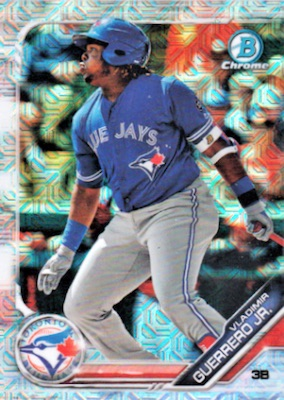 2019 Bowman Chrome Mega Box Variations Baseball Guide 2