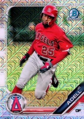 2019 Bowman Chrome Mega Box Variations Baseball Guide 4