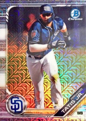 2019 Bowman Chrome Mega Box Variations Baseball Guide 7