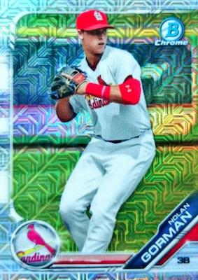 2019 Bowman Chrome Mega Box Variations Baseball Guide 15