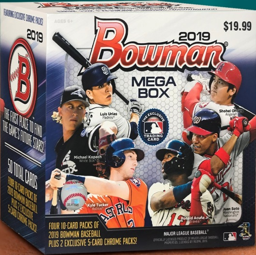 2019 Bowman Mega Box Chrome Baseball Cards 4