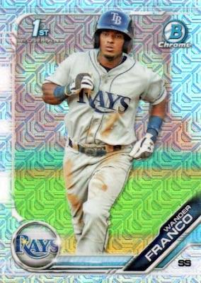 2019 Bowman Mega Box Chrome Baseball Cards