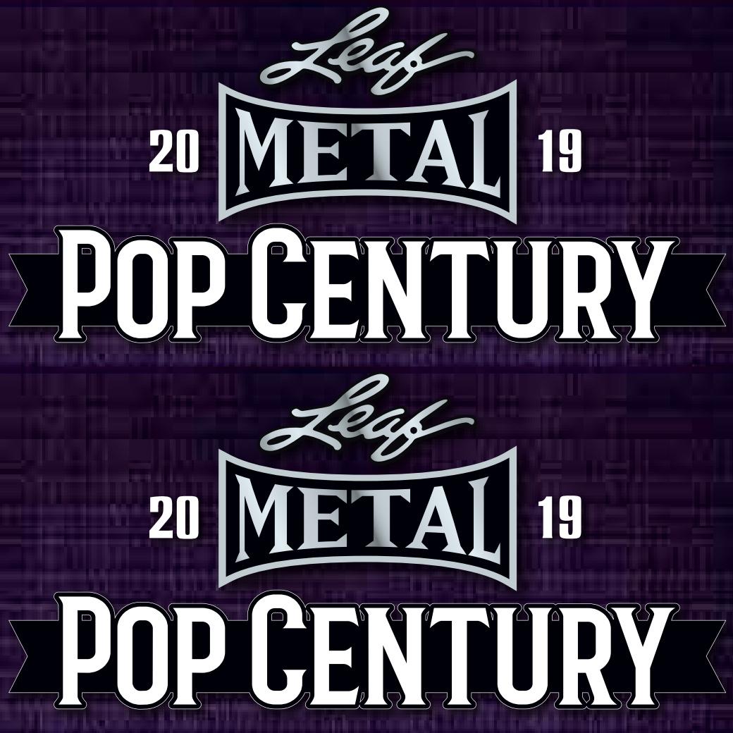 2019 Leaf Metal Pop Century Trading Cards
