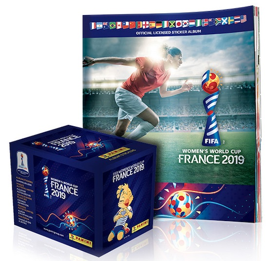 2019 Panini FIFA Women's World Cup France Stickers Soccer Cards 4