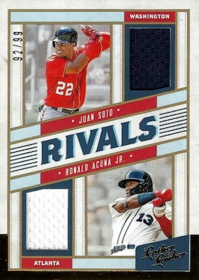 2019 Panini Leather & Lumber Baseball Cards 7