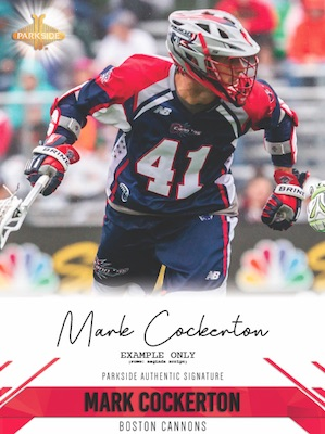 2019 Parkside Major League Lacrosse MLL Cards 2