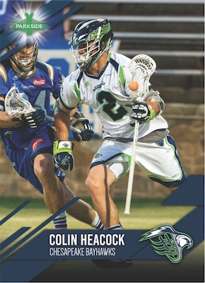 2019 Parkside Major League Lacrosse MLL Cards 1