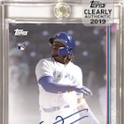 2019 Topps Clearly Authentic Baseball Cards