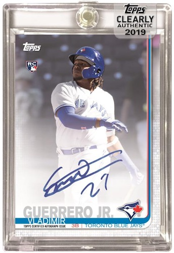 2019 Topps Clearly Authentic Baseball Cards - Checklist Added 3
