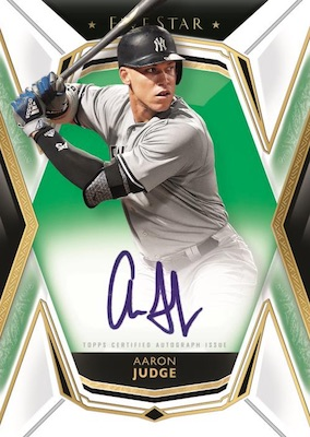 2019 Topps Five Star Baseball Cards - Checklist Added 3