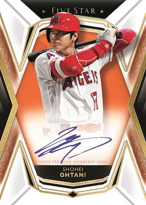 2019 Topps Five Star Baseball Cards - Checklist Added 4
