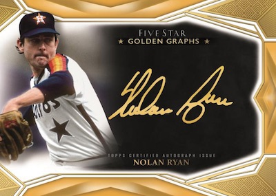 2019 Topps Five Star Baseball Cards - Checklist Added 5