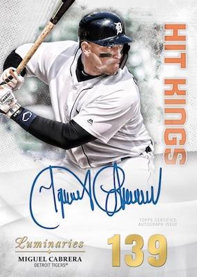 2019 Topps Luminaries Baseball Cards 3