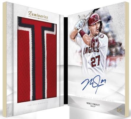2019 Topps Luminaries Baseball Cards 7