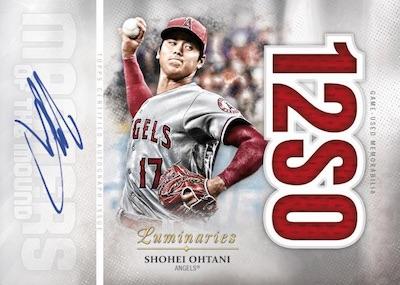 2019 Topps Luminaries Baseball Cards 6