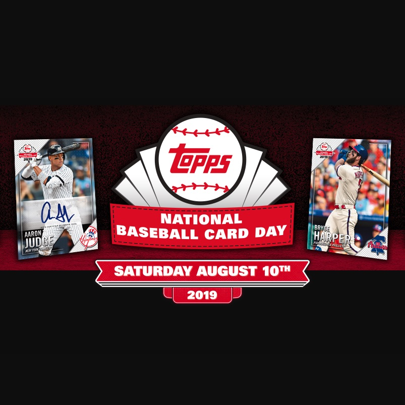 2019 Topps National Baseball Card Day Checklist Set Info