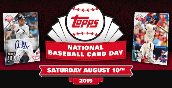 2019 Topps National Baseball Card Day Checklist Set Info Release Date
