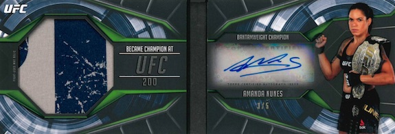 2019 Topps UFC Knockout MMA Cards 6